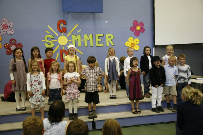 Sommeravslutningsprogram Ekrehagen skole